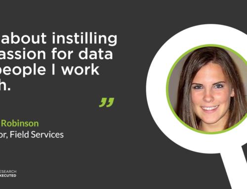 Gillian Robinson: Instilling a passion for data